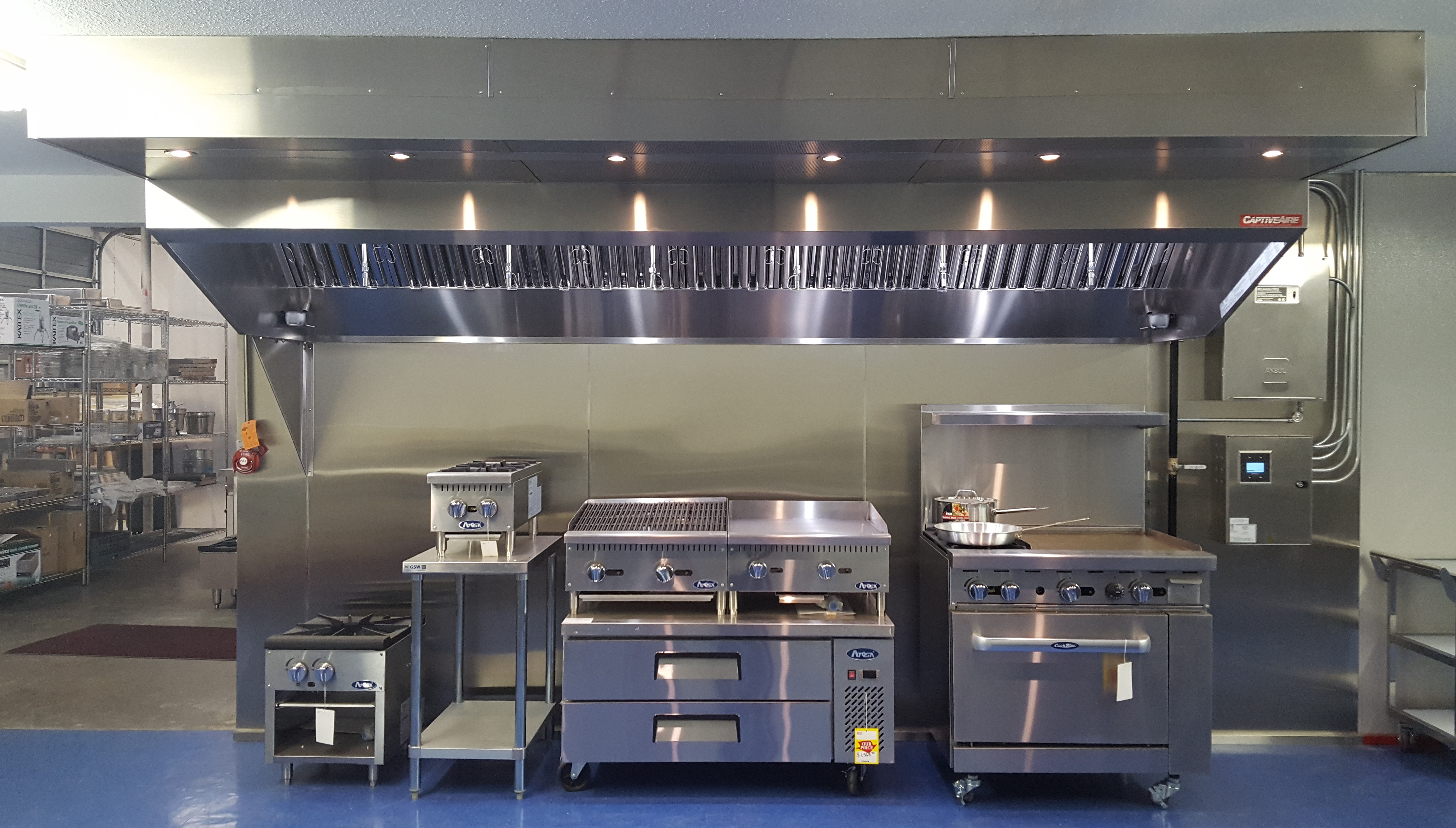 Restaurant Exhaust Fan Installation Service Creswell