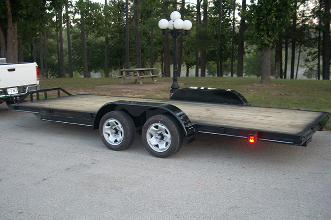 Hillbilly Trailers Flat Bed Car Hauler Trailers