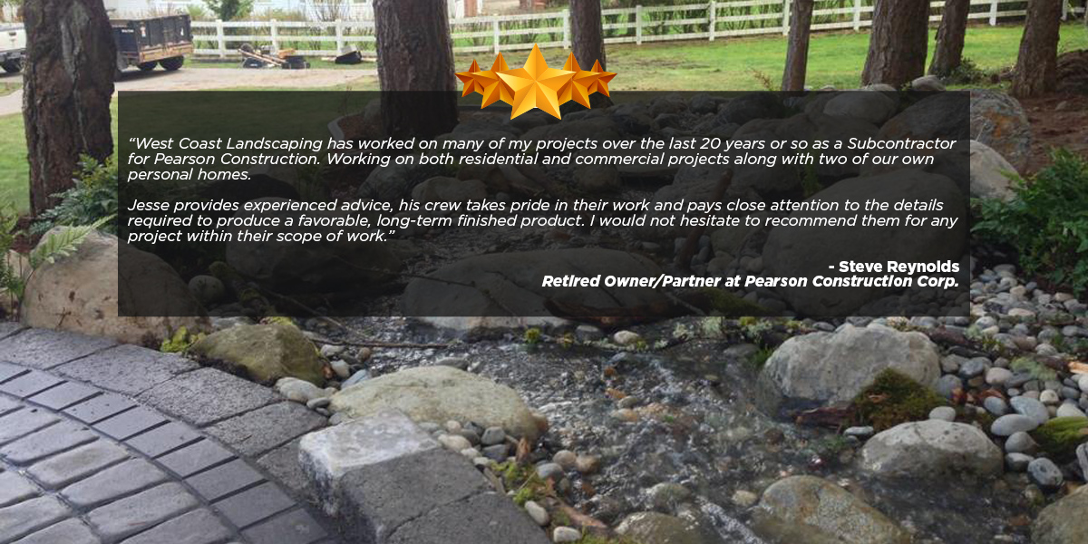 West Coast Landscape and Hardscape 7035 Enterprise Rd Ferndale, WA 98248 - Landscaping Contractor In Ferndale Washington - West Coast Landscape