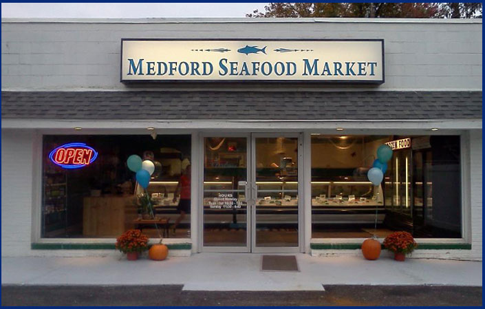 Medford seafood market fresh seafood for sale medford for Wholesale fish market near me