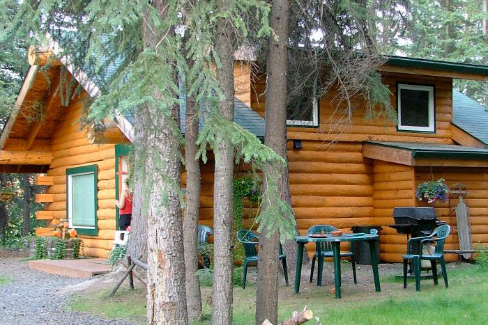 setting alaska photo appointed x cabins log sale secluded remote for comfortable well of in petersville