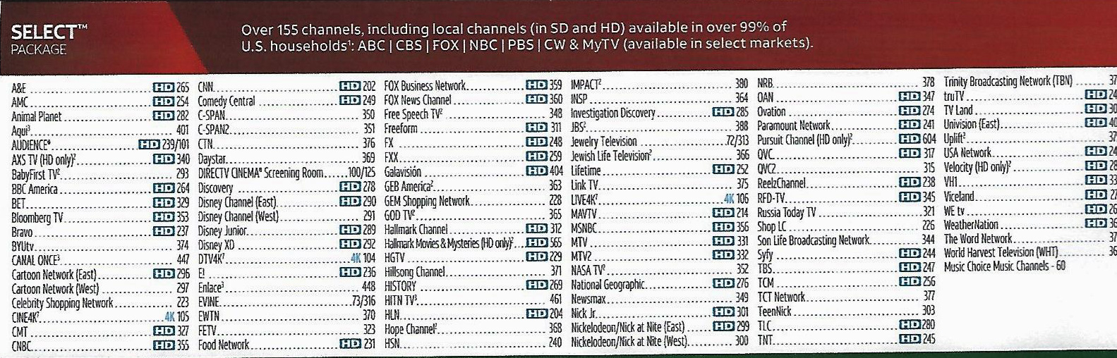 dtv pros | directv packages