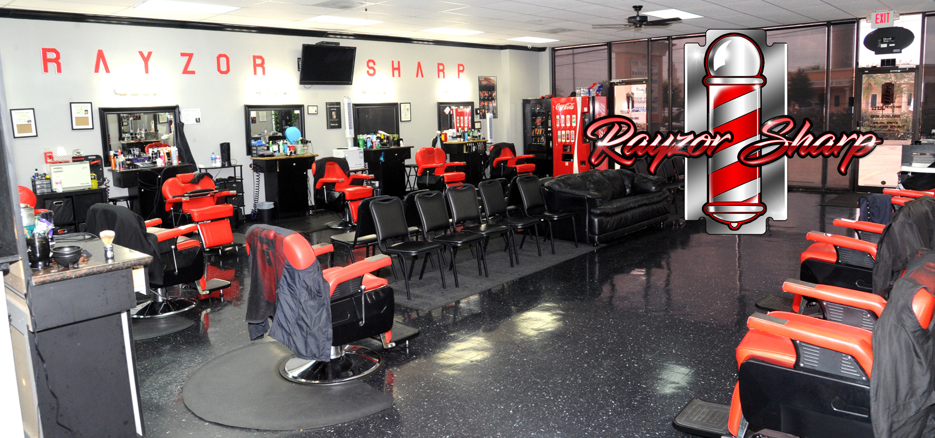 Barber Shop In Houston Texas Rayzor Sharp Barber Shop