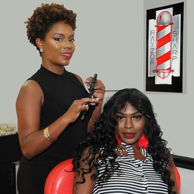 Rayzor Sharp Barber Shop Hair Salon In Houston Texas