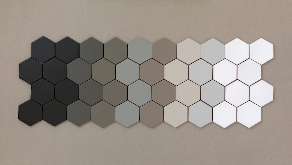 Our 8 neutrals from our Non-Slip Floor Tile Collection.