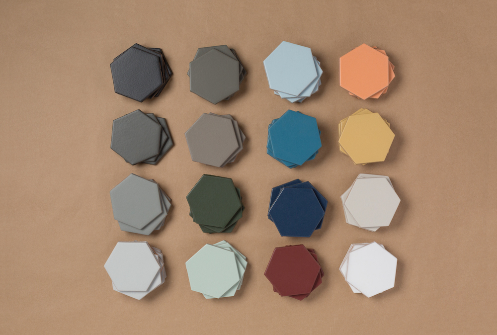 Our 16 Non-Slip Floor Tile colors, now available in 40+ sizes.