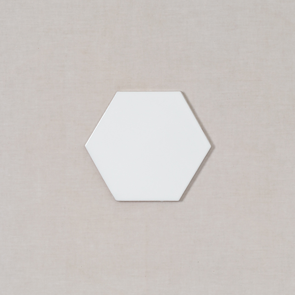 6 Hexagon Fireclay Tile