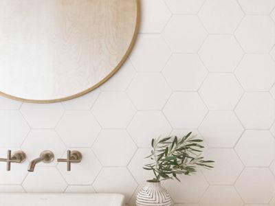 Sarah Sherman Samuel: A-frame Bathroom Reveal