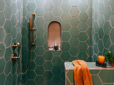 A Family Affair: Guest Bathroom
