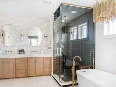 Two-Toned Master Bath