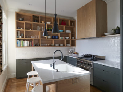 White Chaine Homme Kitchen