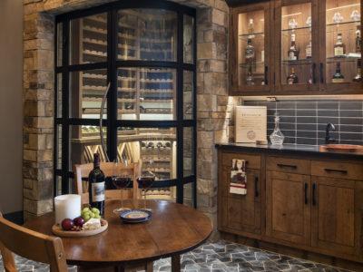 Black Hills Brick Wine Cellar