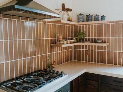 Nutmeg Kitchen Backsplash