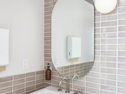 The Commune: 2x6 Mushroom Bathroom