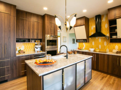 Sunny Picket Backsplash