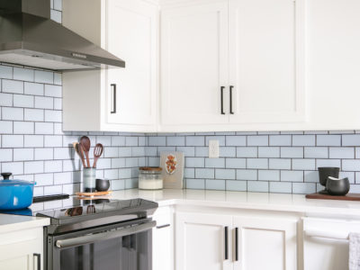 Moonshine Subway Tile Backsplash