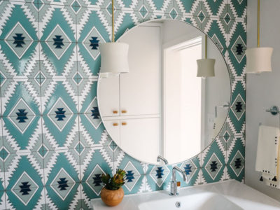 Jessica Honegger: Pool House Bathroom