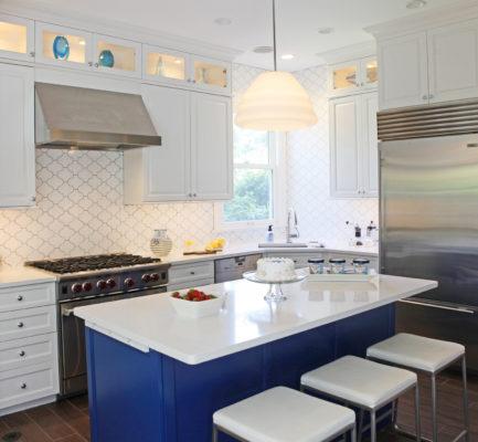 Playful Paseo Tile Kitchen