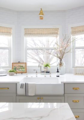 Beautiful in Brick Kitchen Backsplash