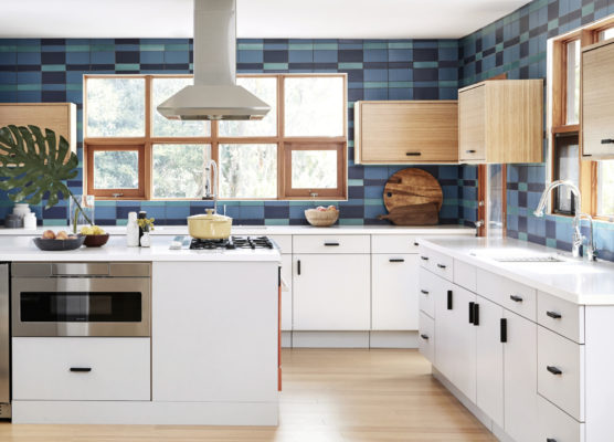 Backsplash Gone Plaid