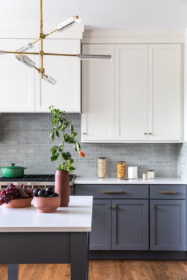 Clean and Classic Backsplash