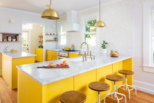 Sunny Picket Kitchen