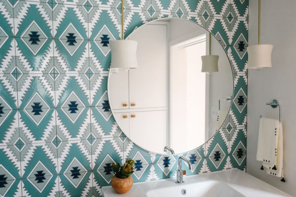 Jessica Honegger: Pool House Bathroom