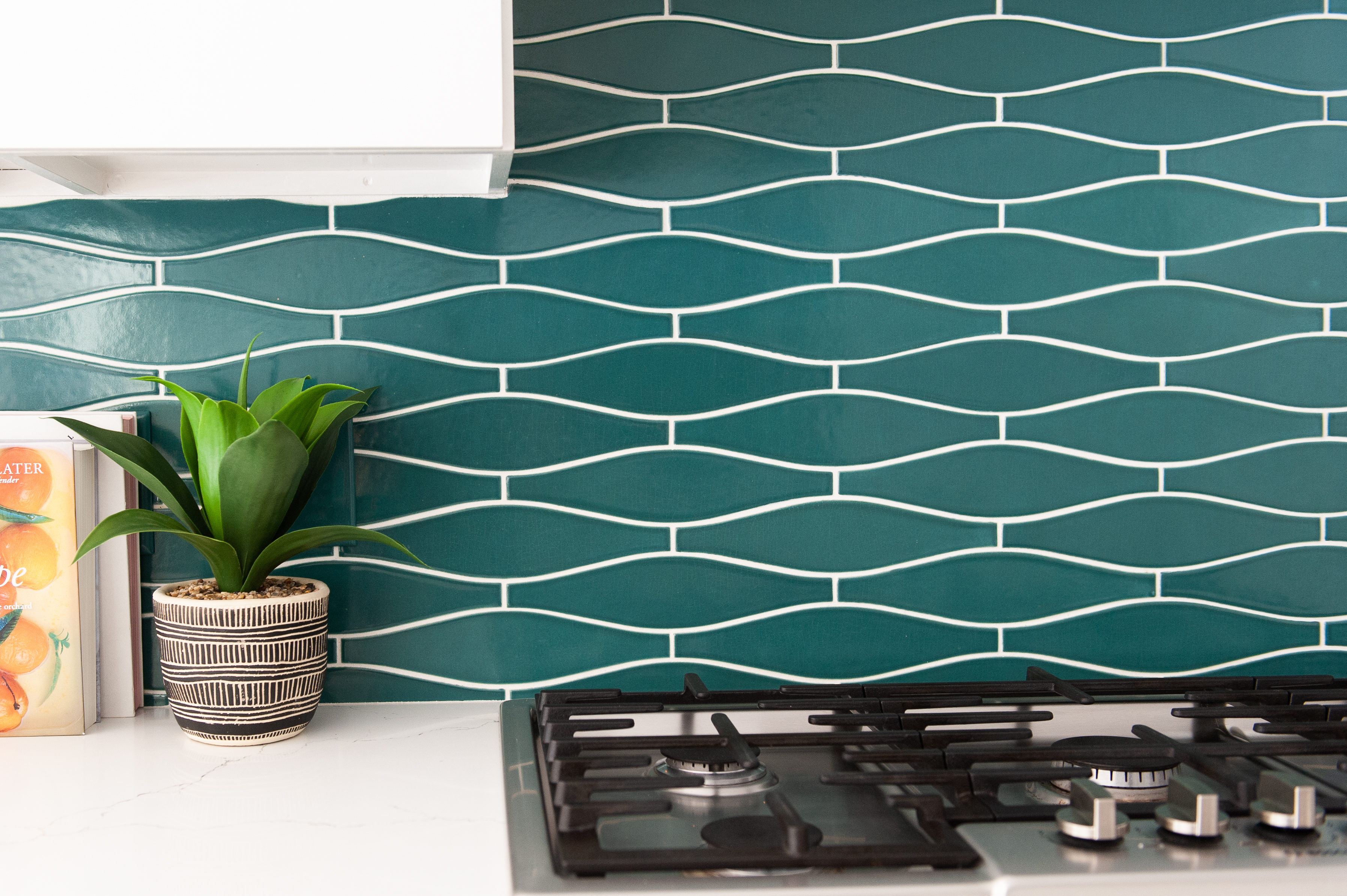 Our specialty tile shape, Wave, in Boundary Waters.