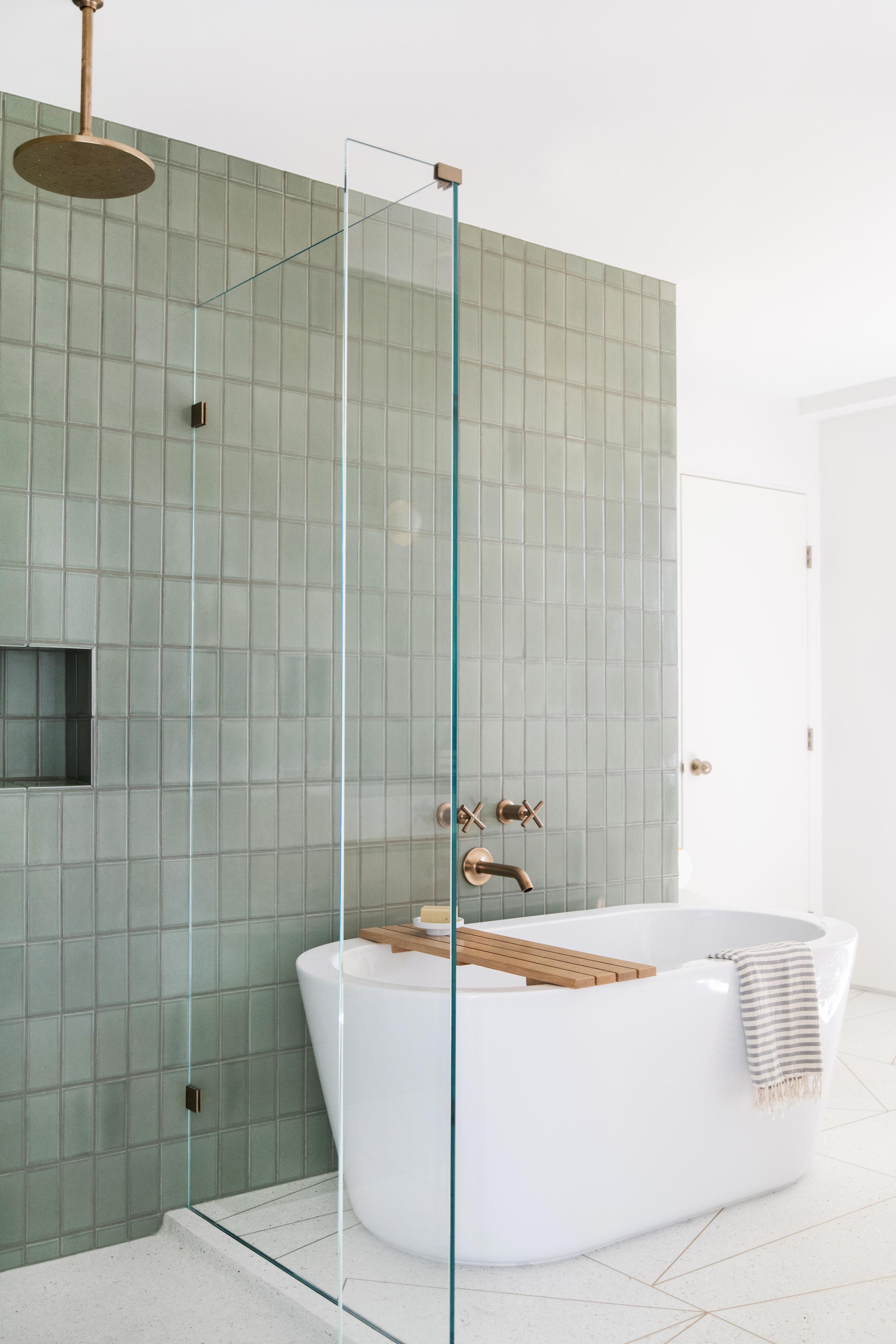 Tile School Bathroom Wall Tile Height How High Fireclay Tile