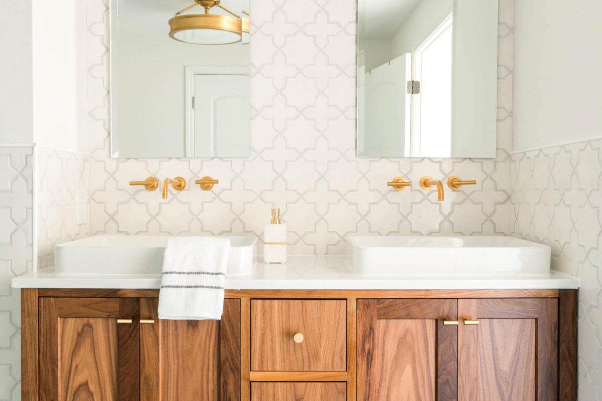 Project Spotlight: Starry Bathroom Remodel | Fireclay Tile
