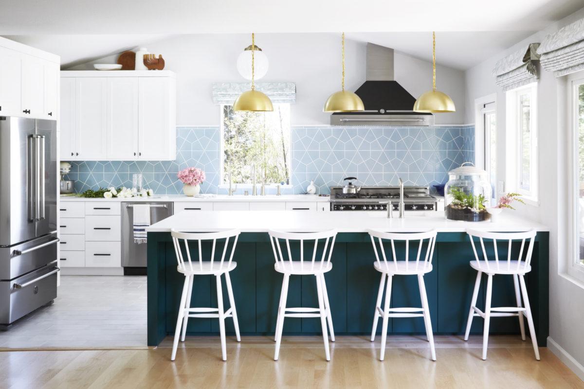 Orlando Sorias Family Kitchen Reveal Fireclay Tile - Family-kitchen-design