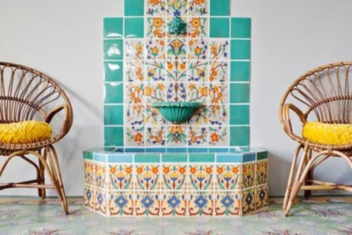 10 Tiled Fountains We\'re Falling For   Fireclay Tile