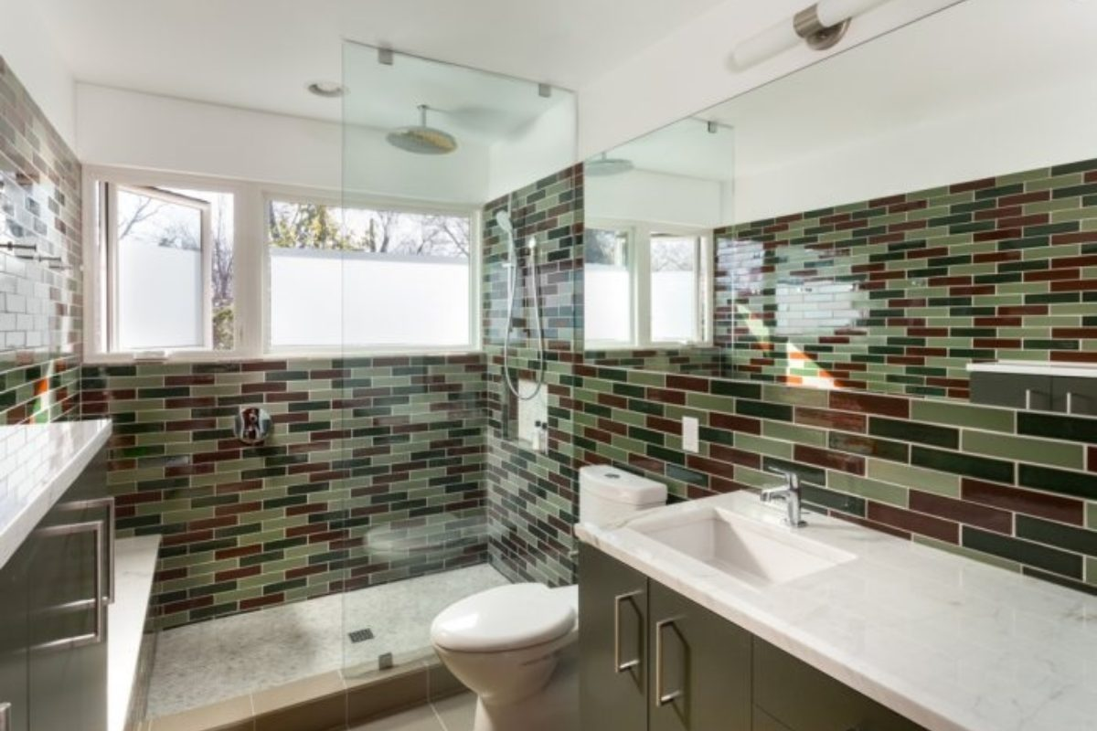 Tile School Bathroom Wall Height How High Fireclay House Wiring Switch Board Should You Go