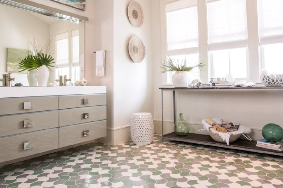 tile by style coastal bathroom escape - Coastal Bathroom