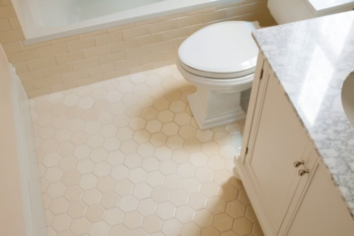 Tile School: How To Choose The Right Hexagon Tile Floor For Your Bathroom