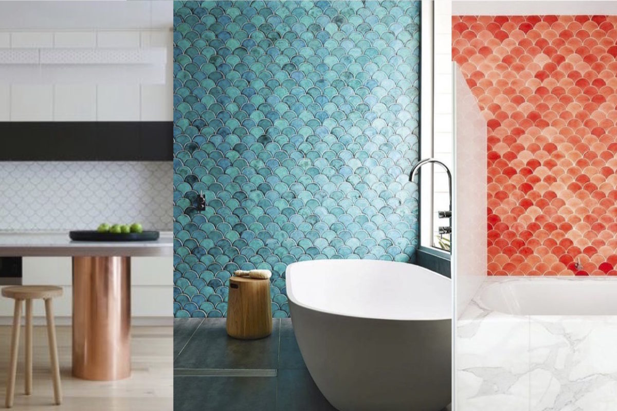 Fish Scale Tiles Across the Color Spectrum | Fireclay Tile