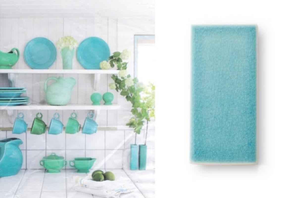 Tile Color Spotlight: Add a Splash of Tropical Color… | Fireclay Tile