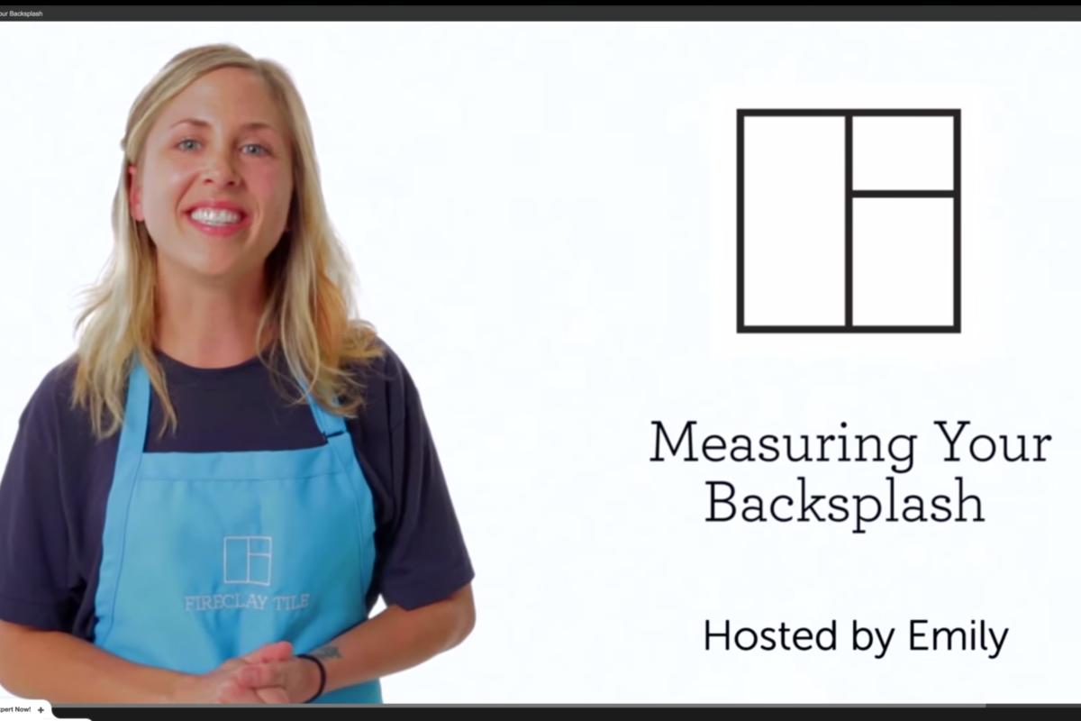 Tile School How To Measure For Your Tile Backsplash Fireclay Tile