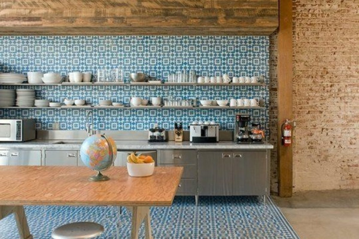 Design Trends: Create Contrast With Patterned Tile and | Fireclay Tile