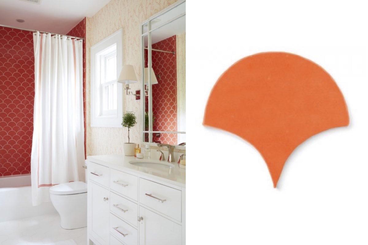Summer Lovin\': Warm-Toned Bathroom Tile | Fireclay Tile