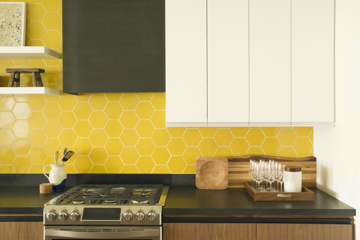 Design Trends Hexagons In The Kitchen Fireclay Tile