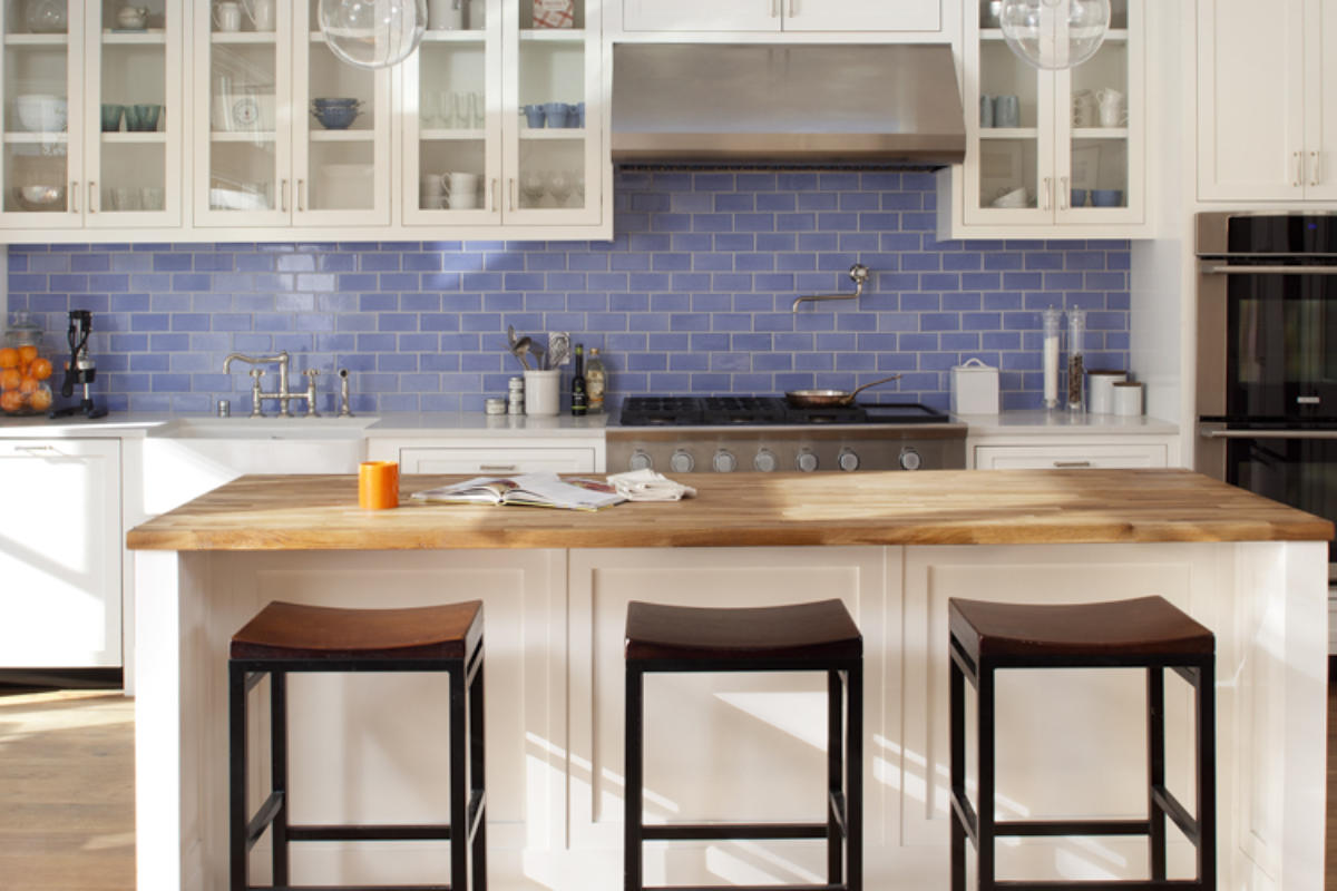Tile School: Tile vs Glass in the Kitchen, Which is… | Fireclay Tile