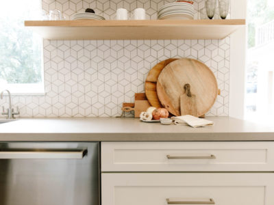 Could I Have That: Small Diamond Tile Kitchen