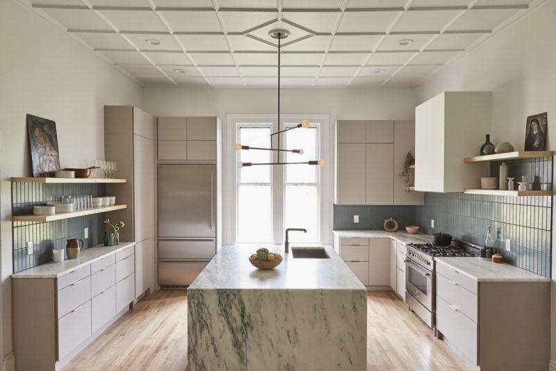 The Filomena Flagstone Kitchen Tile Fireclay Tile