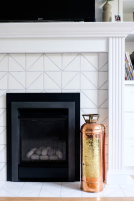 Project Spotlight: Triangle Tiles, Fireside