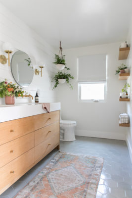 Project Spotlight: Sugar and Charm Bathroom Reveal