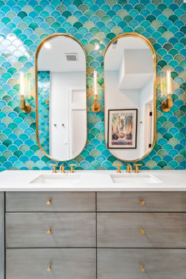Project Spotlight: Mermaid Master Bathroom