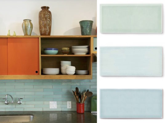 Color Spotlight: Moonstone, Aqua, and Glacier Bay