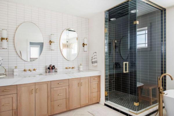 Project Spotlight: Two-Tone Master Bath