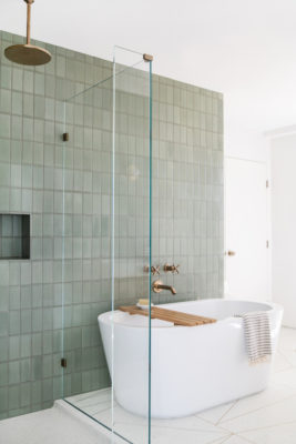 Tile School: Bathroom Wall Tile Height, How High Should You Go?